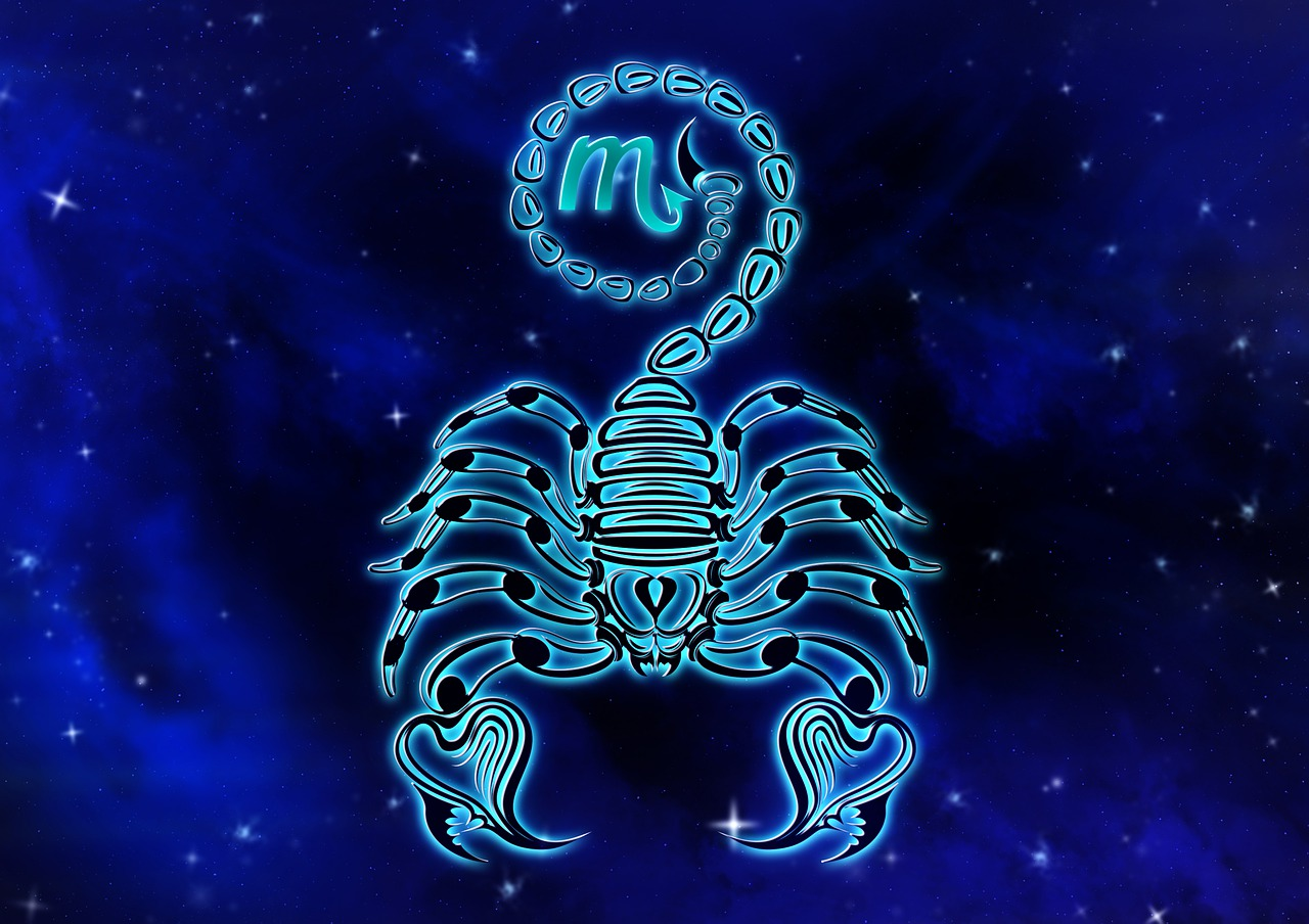 Zodiac sign, scorpio, horoscope, design, astrology - free image ...