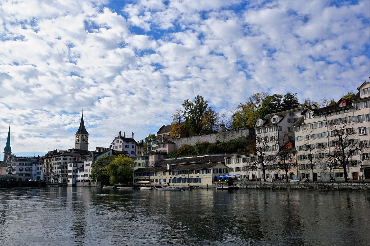 zurich city switzerland free photo