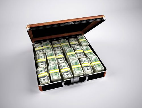 Briefcase With A Million Dollars