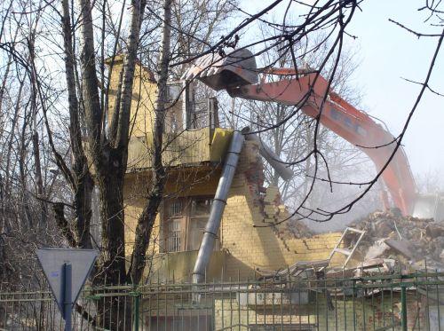 Ruin House Demolition