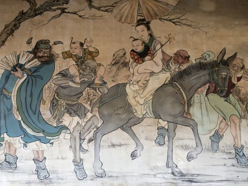 廟-woo tradition mural
