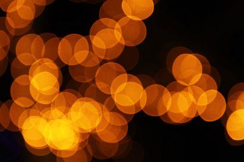 Blurred Orange