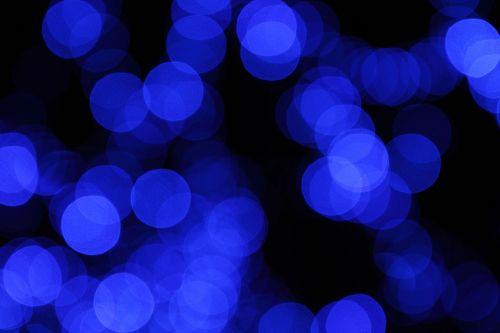 Blurred Blue