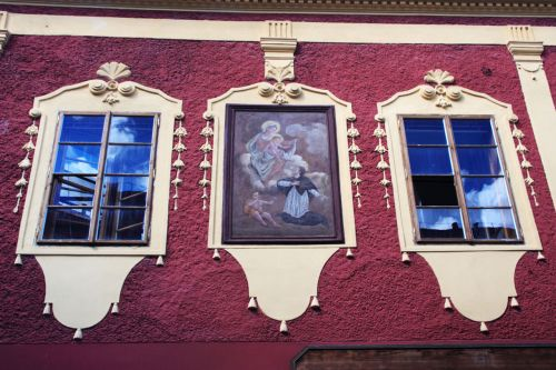 Old Decorated Windows