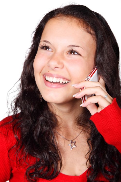 Talking On Mobile Phone
