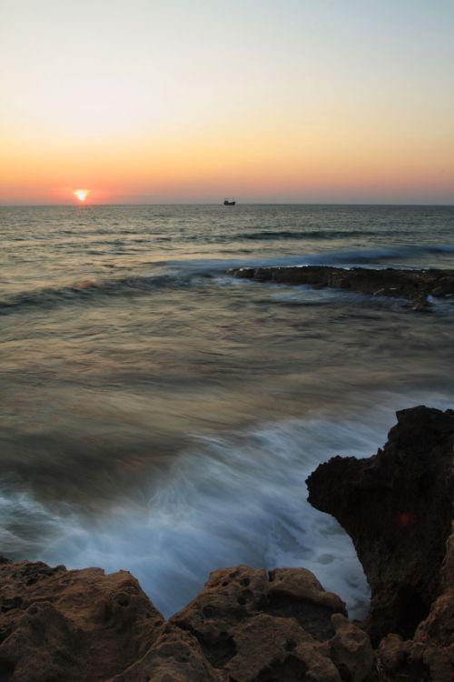 kranto, pakrantė, kraštovaizdis, vandenynas, Rokas, akmenys, scena, jūra, dangus, akmuo, saulė, saulėtekis, saulėlydis, vanduo, banga, jūros saulėlydis