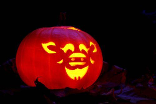 Funny Jack-o-lantern