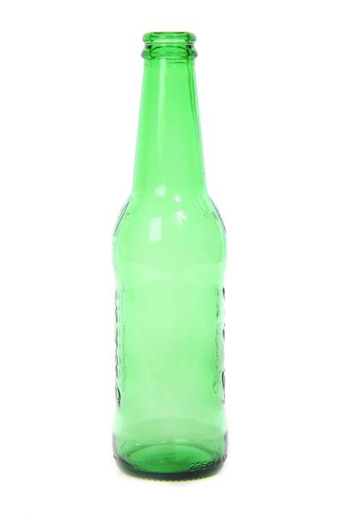 Empty Green Bottle