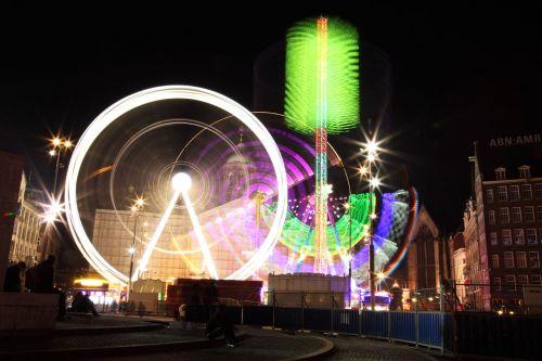 Carousel Light Trails