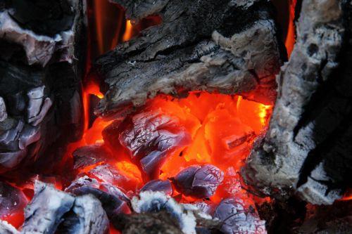 Burning Coal