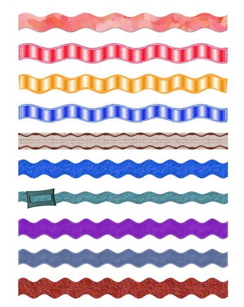 10 Various Ribbons