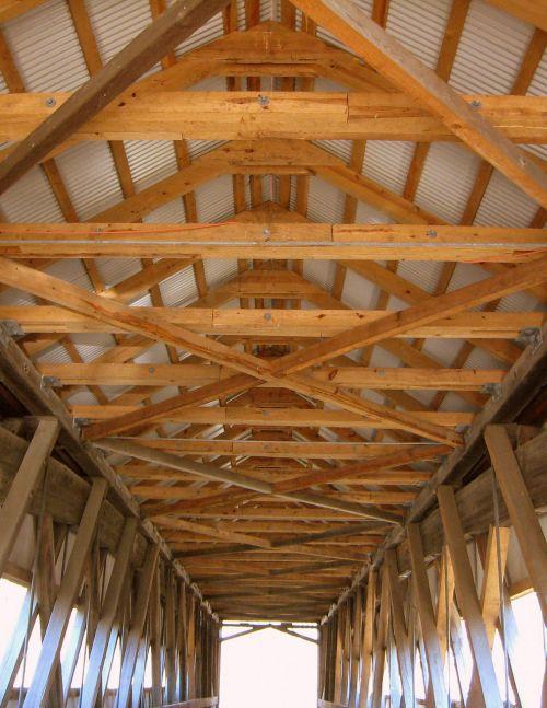 Covered Bridge Inside