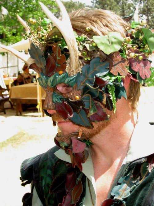 Green Man - Renaissance Faire Actor