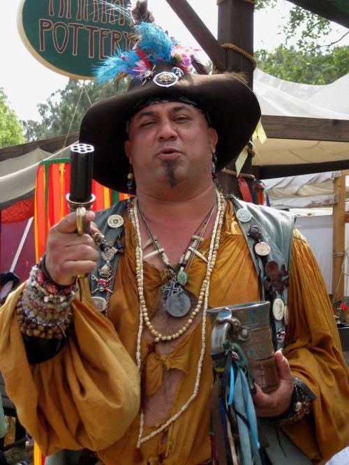 Colorful Actor  - Renaissance Faire