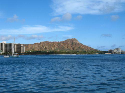 Diamondhead Oahu Hawaii