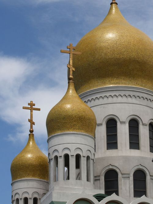 Russian Cathedral Domes