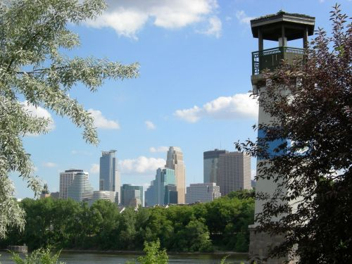 Minneapolis And Lighthouse