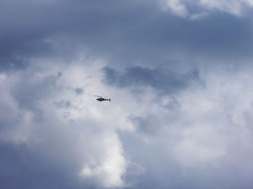 Helicopter Passing By