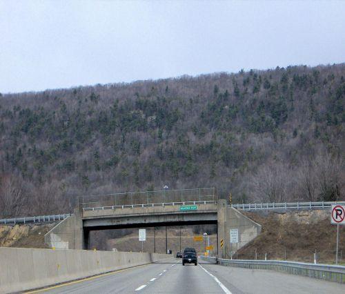 Mountain On The PA Turnpike