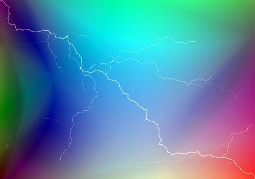 Multi-Colored Lightning