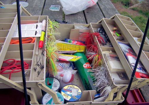 Open Tackle Box