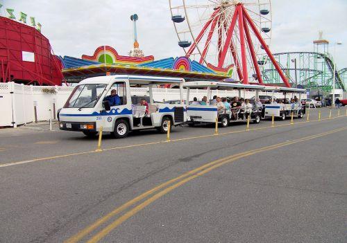 Boardwalk Trolley