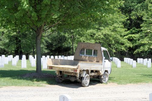 Cemetary Workers Vehicle