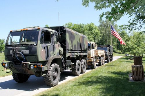 3 Reserve Vehicles Parked