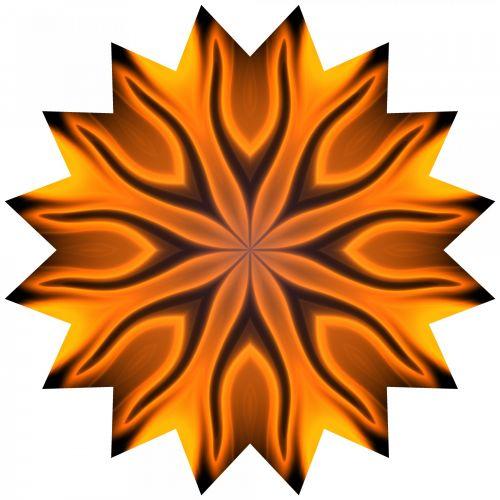 16 Point Star