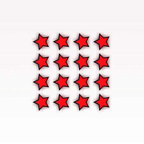 16 Red Stars