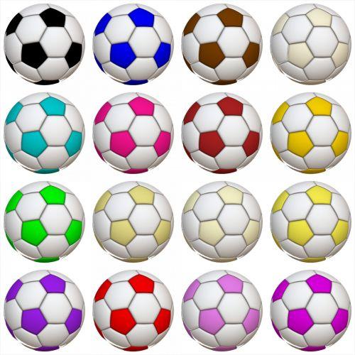 16 Soccer Balls
