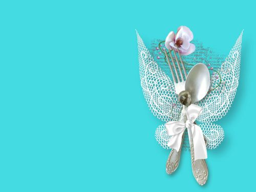 sidabro dirbiniai, Vestuvės, balta, sparnai, šventė, džiaugsmas, sidabro dirbiniai