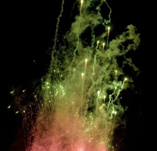 Fireworks Red Green