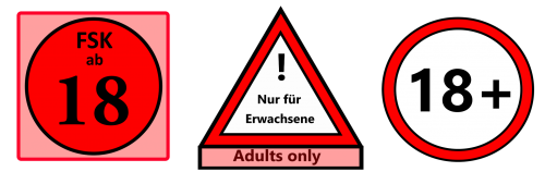 18 adults age rating
