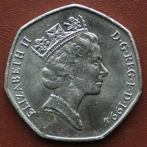 1994 Fifty Pence Coin