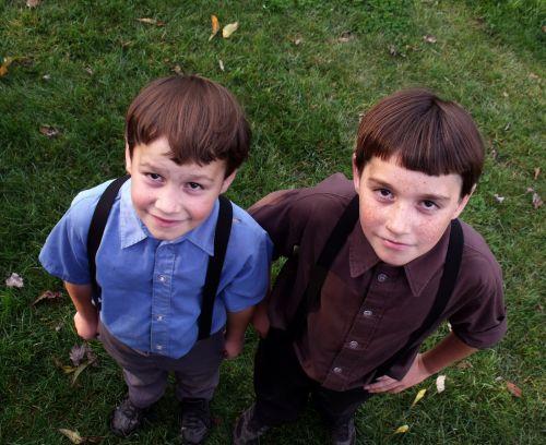 2 Amish Boys