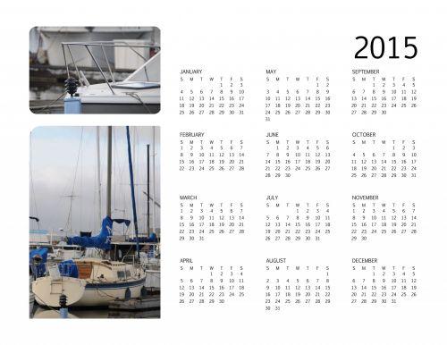 2015 Annual Calendar