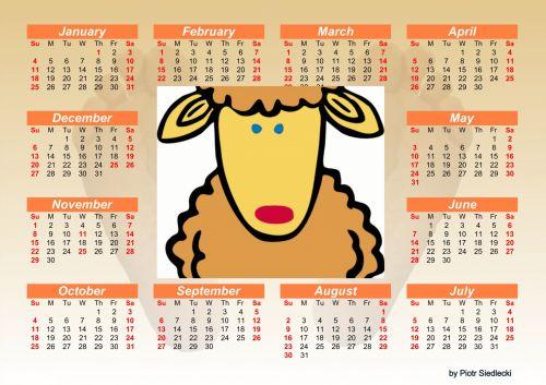 2015 Calendar 4
