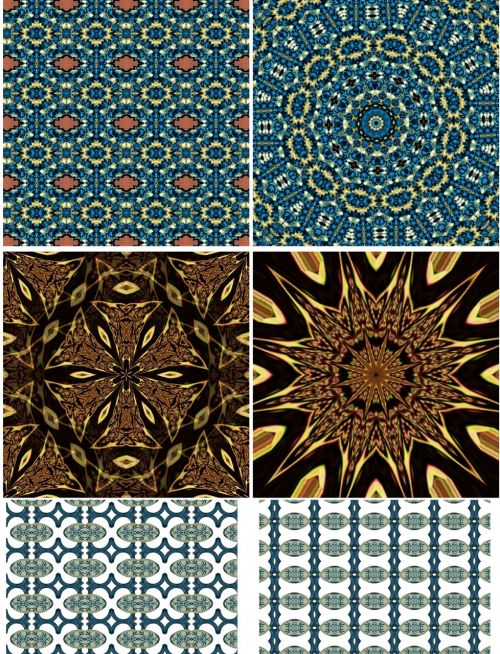 Pattern Backgrounds Collage Sheet