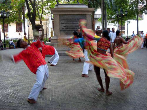 Dancers In Colombia