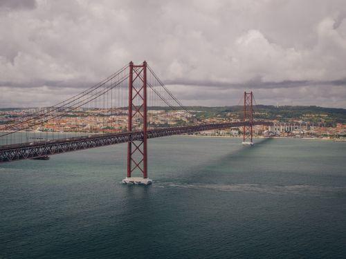 25th of april bridge bridge lisbon