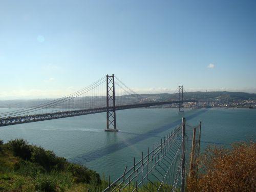 25th of april bridge portugal lisbon