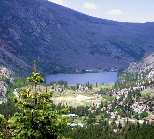 Eastern Sierra California Landscape