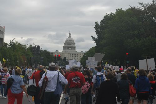 Marching To The Capitol