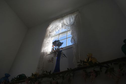 langas, saulės šviesa, šviesa, užuolaidos, šviesa langelyje