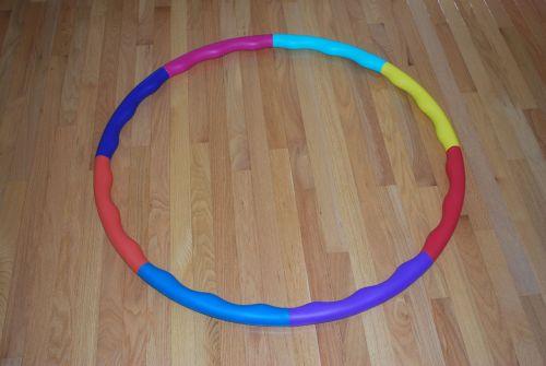 hula, lankelis, žiedas, grindys, spalvinga, šviesus, hula hoop