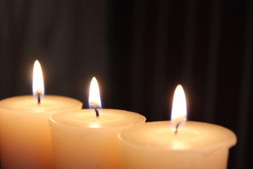 žvakės, deginimas, žvakė, liepsna, liepsnos, deginti, 3 žvakių deginimas