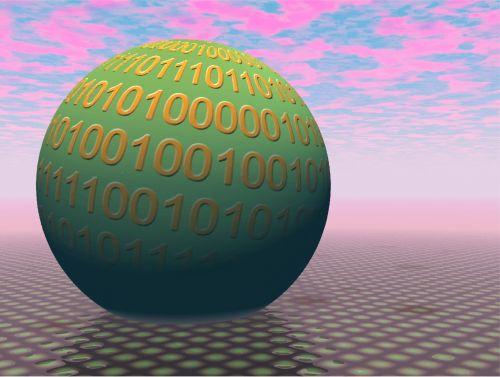 3d Binary Globe