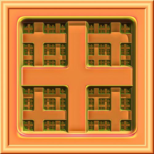 3d Fractal Pattern