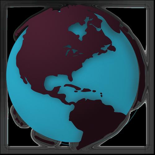 3d globe  the globe  earth